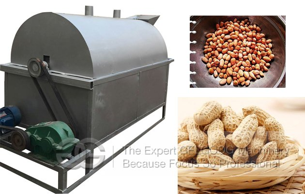 nut roaster machine