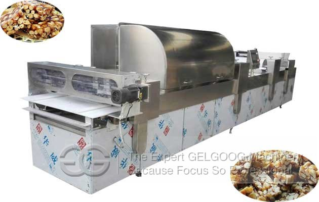 peanut brittle molding machine