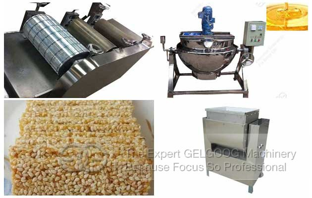 sesame bar forming machine