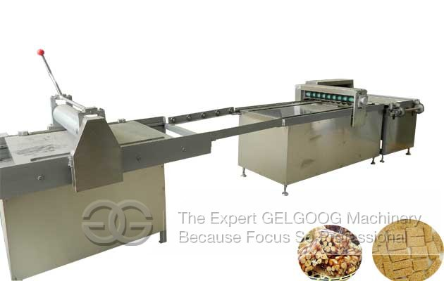peanut candy bar cutting machine