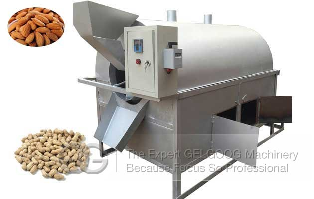 almond roasting machine