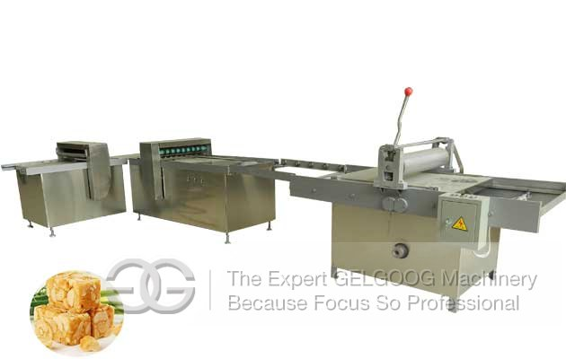 <b>Peanut Candy Bar Cutting Machine|Sesame Candy Cutter Machine</b>