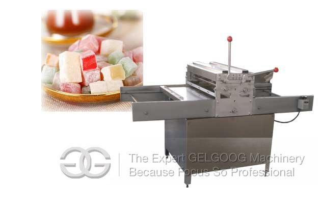 Turkish Delight Forming Cutting machine|Turkish Soft Candy Cutting Machine