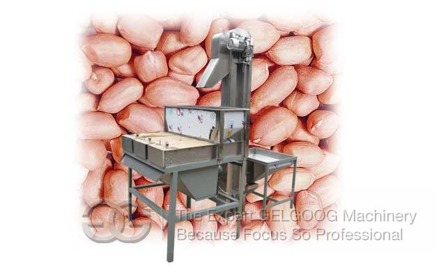 peanut red coat peeling machine