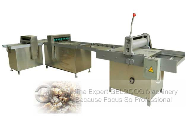 peanut candy cutter machine