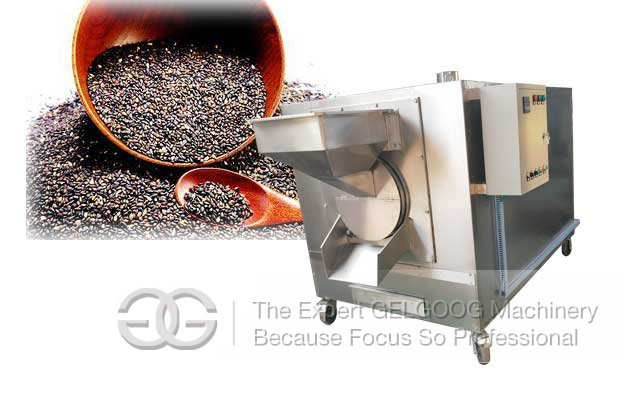 sesame roasting machine