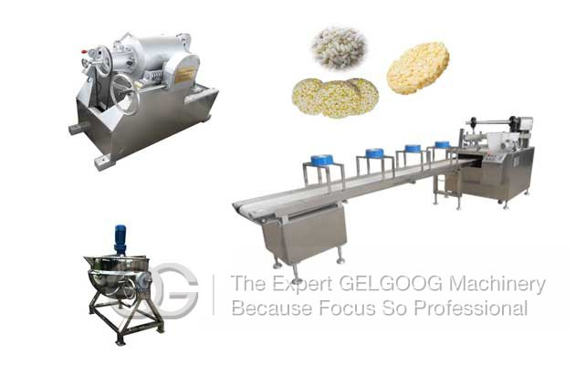 puffed cereal bar production line
