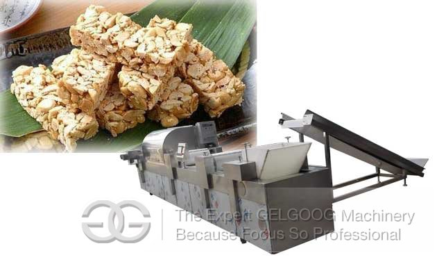 peanut bar making machine