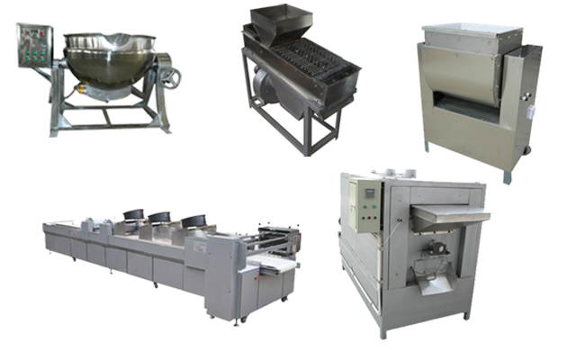 Peanut Brittle Machine|Automatic Peanut Brittle Production Line|Peanut Candy Machine