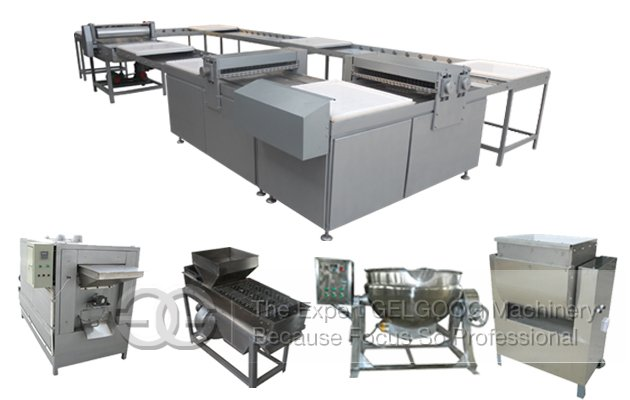 <b>Peanut Brittle Making Machine|Commercial Peanut Brittle Production Line|Peanut Candy Production Line</b>