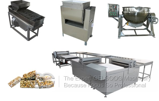 Peanut Brittle Making Machine|Commercial Peanut Brittle Production Line|Peanut Candy Production Line