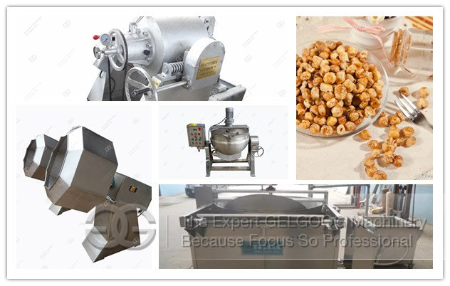 <b>Coffee Corn Processing Line|Coffee Corn Making Machine|Fried Coffee Corn Snacks Machine</b>