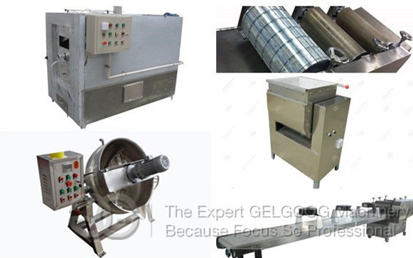 <b>Sesame Candy Machine|Sesame Brittle Cutting Machine|Sesame Bar Making Machine</b>