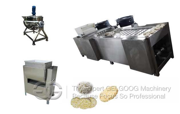 Rice Krispies Treat Machine|Rice Krispies Making Machine|Rice Krispies Production Line