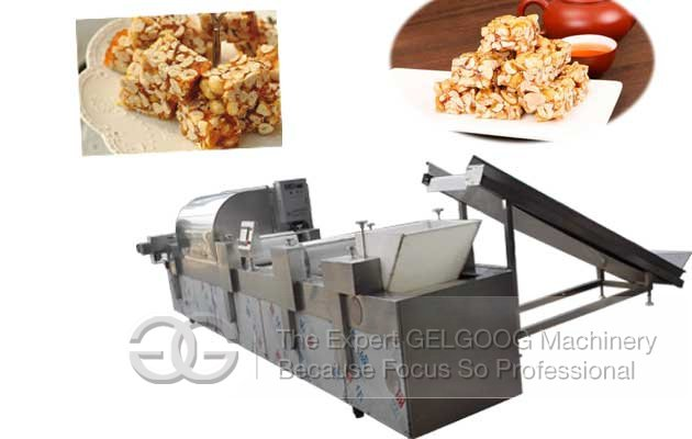 Peanut Bar Making Machine|Peanut Crispy Making Machine
